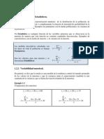 I.2.- Parametros, Estadisticos y Distribuciones Muestrales