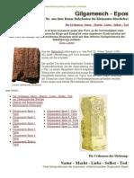 Gilgamesch-Epos Die Urthemen