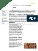 Gilgamesch Epos Geschichtliches