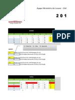 Cronograma Ágape 2014