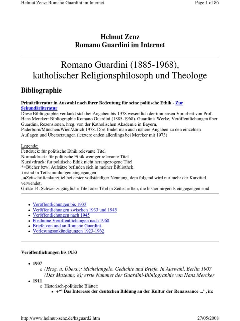 R303244der Weihnachten.Blibliografia R Guardini