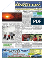 The Village Reporter - January 14th, 2014