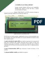 Práctica14_Display LCD_Hola Mundo