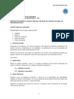 Instructivo Para El Informe