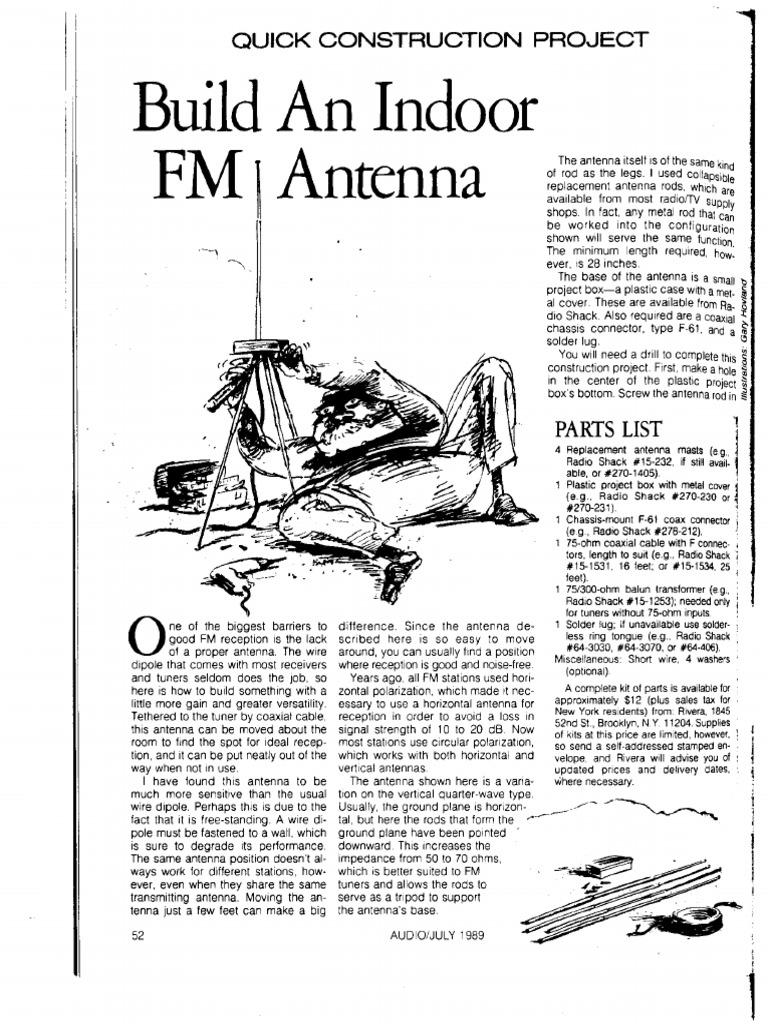 Diy Fm Antenna