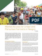 Market Access for Urban and Periurban Farmers in Yangon, UA Magazine (2010)