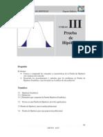 III.1.- Prueba de Hipotesis y Errores Fundamentos