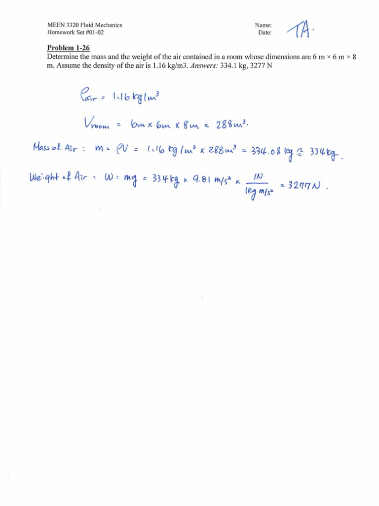 Fluids mechanics homework viscosity drag physics fandeluxe Images