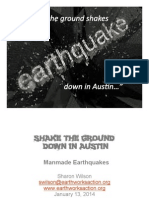 Shake the Ground People's Fracking Earthquake Presentation