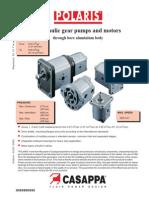 Polaris Hydraulic Gear Pump Catalog