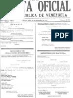 Venezuela. Sentencia CSJ. Nulidad x Inconstitucionalidad LEY VAGOS Y MALEANTES
