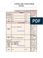 Comandos HTML 1