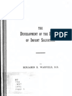 Development of Doctrine of Infant Baptism