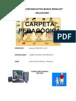 Manuel Carpeta Y I Unidad
