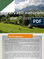 REZERVAȚII NATURALE DIN ROMANIA