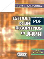 Goodrich Tamassia 2010 . Estructura de Datos y Algoritmos en Java