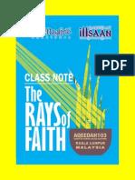 RaysofFaithNotes_QabeelatIhsaan