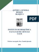 Guia Practica BIOQ221 2011 Primer Bloque