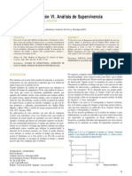 Modelos de Regresión VI. Análisis de Supervivencia