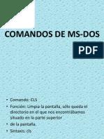 Comando de Ms-dos