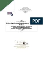 Teoría de la Estructuración de Anthony Giddens, Luis Angel Ortiz Palaciones