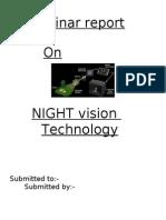 Night Vision Technology.doc