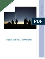 Diccionario de La Astronomia