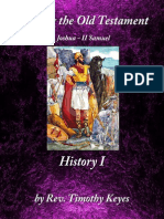 Israeli History 1-Joshua-2 Samuel
