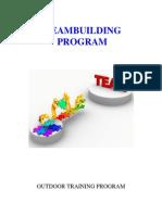 teambuilding programs - level 1