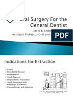 Oral Surgery for General Dentist