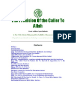 The Provision of the Caller to Allah