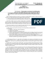 Rule 123 Procedure in d MTC