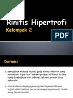 Rinitis Hipertrofi