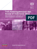 Tren Ketenagakerjaan Indonesia 2013