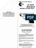 AMT 45 Backup Owners Manual