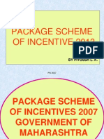 Packaging Scheme Incentives 2013
