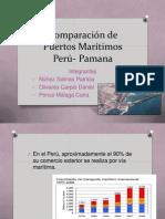 Comparación de Puertos Marítimos pANAMA-PERU