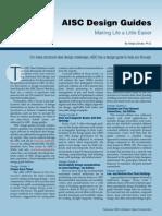 AISC Design Guides Making Life a Little Easier