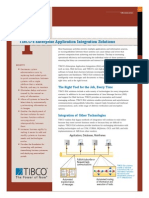 TIBCO Enterprise Application Integration Solution_Datasheet