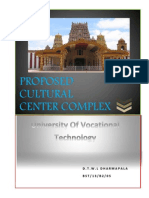 Kilinochchi Proposal  UNIVOTEC