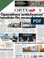 Periódico Norte edición impresa día 15 de enero 2014
