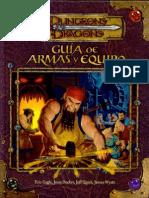 -=]ROLes[=- D&D 3.5 - Guia de Armas Y Equipos