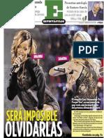 Espectáculos  15 de enero 2014