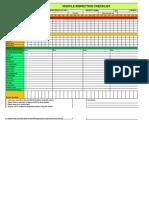 Light Vehicle Inspection Checklist