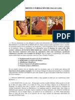 Entrenamiento y Formacion Del Dalai Lama