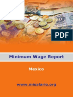 Mexico Minimum Wage