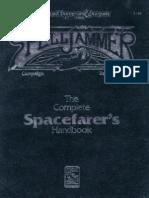 TSR2130 - Spelljammer - Complete Spacefarers Handbook