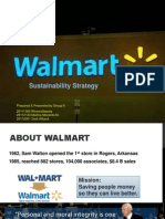 Walmart's Sustainability Strategy Group6.Ppt