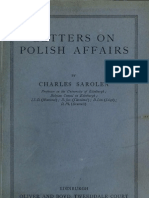 Letters on Polish Affairs 1922