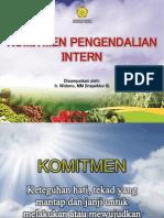 Komitmen Pengendalian Intern (Ir. Widono, MM)